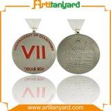 Médaille de souvenir en métal de logo de modèle de promotion