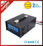 12/24V 자동차. 탐지 50A 자동적인 7은 디지털 표시 장치를 가진 배터리 충전기를 상연한다