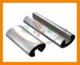 Inferriata con 304, tubo scanalato ovale dell'acciaio inossidabile 316