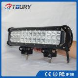 72W iluminación de la conducción de automóviles del carro de la fila del doble de la barra ligera del CREE LED