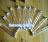 Цилиндры любимчика транспаранта пластичные с 2 крышками