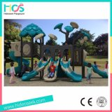 Спортивная площадка парка атракционов коммерчески напольная для детей с скольжением (HS09801)