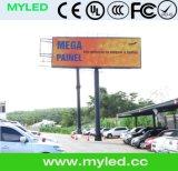 P3 P4 P5 P6 P7.62 P8 P10 P16 P20 HD LED Display/LED를 광고하는 실내 옥외 알리 고품질 풀 컬러
