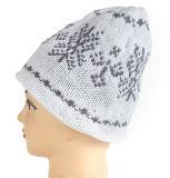 Шлемы мягкого жаккарда Mens зимы теплые связанные
