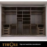 자연적인 재 베니어 미닫이 문 옷장 홈 만원 가구 제조업 Tivo-097VW