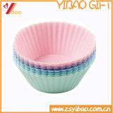 Het kokende Hulpmiddel van Silicone Ketchenware draagt Vorm de Op hoge temperatuur van de Cake van het Silicone (yb-u-49)