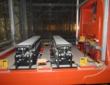 Het automatische Systeem van de Opslag en van de Herwinning (ASRS) met de Kraan van de Stapelaar