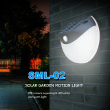 Lumière solaire d'intérieur imperméable à l'eau de détecteur de nuit de DEL avec PIR