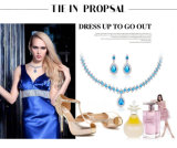 Nuevos conjuntos populares del collar de la venta al por mayor 2016 de lujo de la joyería del collar de la manera de las mujeres