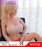 Neue lebensechte 158cm Silikon-weibliches Geschlechts-Puppe für Mann