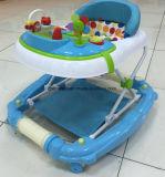 Caminante plegable 2017 del bebé del modelo nuevo con los juguetes (CA-BW201)