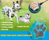 GPS Tracker Pet RF-V32 GSM Tracker Positionnement WiFi Waterproof IP66 Support Wireless Charging Rolling No Box