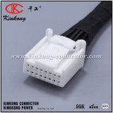 Harnais de fil personnalisé d'automobile avec connecteurs auto 16p