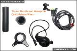 36V/48V 500W MITTLERER Antriebsmotor-Installationssatz für E-Fahrrad