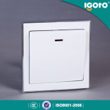 Igoto B9020 20A Electrical Push Button Lamp Wall Switches From Clouded