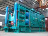 Machine de roulement utilisée dans le système de meulage à circuit fermé