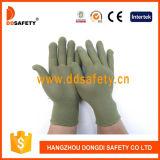 13 Anzeigeinstrument-grüne Nylon-Polyester-Bambushandschuhe Dch124