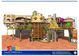 Pyramide-themenorientiertes Innenspielplatz-Gerät
