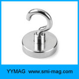 NdFeB Pot Magnetic Neodymium Magnet Hook