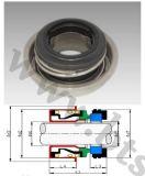 Уплотнение B70 Bellow эластомера механически