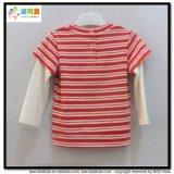 新しいデザイン赤ん坊の衣服の男女兼用の赤ん坊のTシャツ