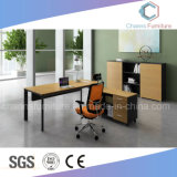Mobiliário moderno L-Shape Wood Computer Executive Desk Office Table