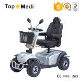 2016 caldo liquidando il motorino elettrico Handicapped di mobilità della strada con il cestino del compensato