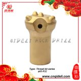 Morceaux de foret de extraction de bouton de carbure de tungstène d'amorçage