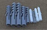 Расширьте штепсельную вилку 10mm x 50mm, котор запаздывание расширяет болт штепсельной вилки ногтей расширения винтов стены пробки пластичный