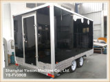 Ys-Fv390b 3.9m Red High quality Mobile Barbecue Concession Trailers