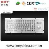 Teclado industrial de metal com trackball (KMY299H-1)