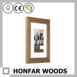 Cornice di legno rustica della parete per il regalo promozionale