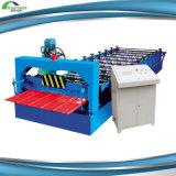 機械を形作るロールを機械で造らせる機械屋根ふきのパネルに波形シート