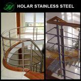 Pasamano del cable del acero inoxidable del diseño moderno/barandilla del alambre para el balcón