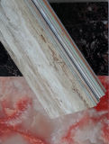Plastikwand mit Marmorbeschaffenheit