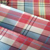 Il filato tessuto 100% del popeline di cotone ha tinto il tessuto per le camice/vestito Rls32-8