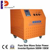 Sistema Solar pura incorporada del inversor/de la batería/del regulador de la onda de seno de 5000With7000va 48VDC