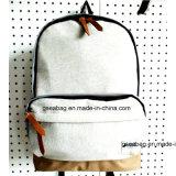 Form-Schule-Kind-fördernder Beutel mit Baumwollgute Qualitäts-u. konkurrenzfähiger Preis-Geschäfts-Rucksack