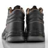 De Schoenen van het Werk van het leer, de Comfortabele Schoenen van de Veiligheid, de Schoenen van de Teen van het Staal