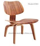 Cadeira de madeira do hotel moderno do lazer do jardim para os estudantes/crianças (F001)