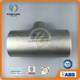Roestvrij staal die T-stuk verminderen. Wp316/316L Ss de Montage van de Pijp (KT0326)