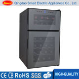 Non Noise Glass Door Semi-Conductor Wine Cooler Sans Compresseur