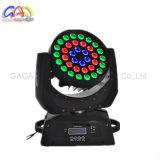 36 * 급상승 기능 이동하는 맨 위 빛을%s 가진 LED4 에서 1 10W 고성능 RGBW