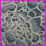 Nuovo tessuto del merletto del ricamo del cotone di disegno delle 2017 molle