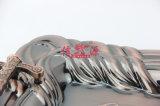 Het Dienblad van de Ambacht van het Plateren van het Brons van het roestvrij staal (voet-0628)