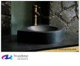 Lavabo nero del granito della pietra della natura dello Shanxi