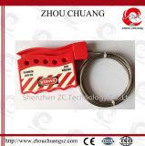 fechamento durável do cabo do aço inoxidável do comprimento de 1.8m com 5 cadeado
