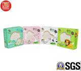 Papierkarten-verpackenkasten mit PVC/Pet Fenster, Artcoated Papier-verpackenkasten mit dem Folien-Stempeln