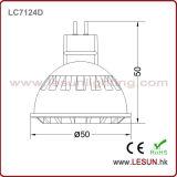 5W proyector de la MAZORCA 12V AC/DC LED/gabinete LC7135D ligero