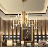 Славный самомоднейший канделябр привесного светильника золота СИД 30 рукояток для гостиницы